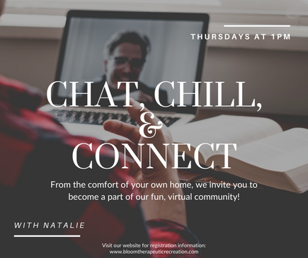 Chat, Chill, & Connect - November 2020 .