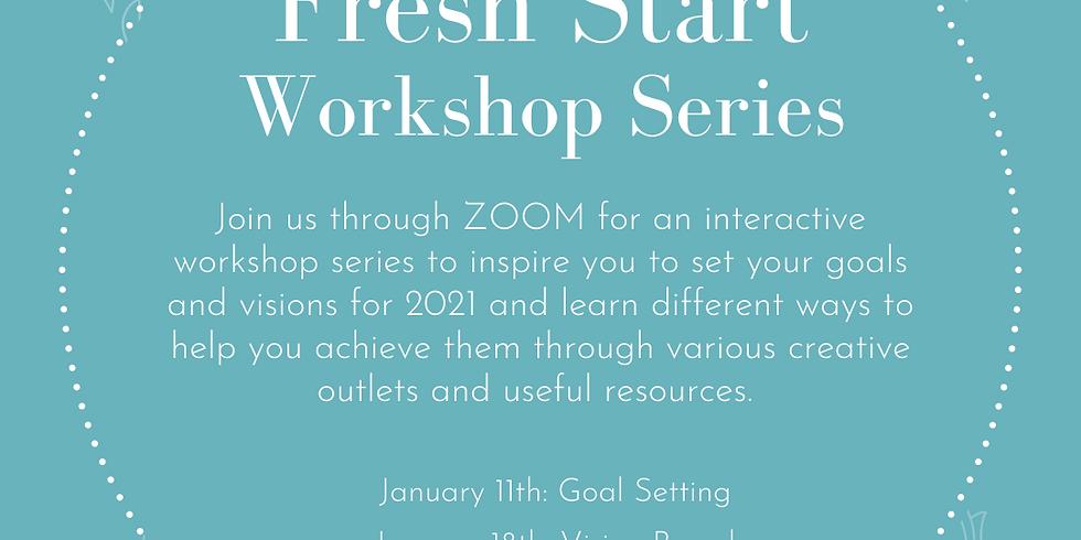 FRESH START Workshop series