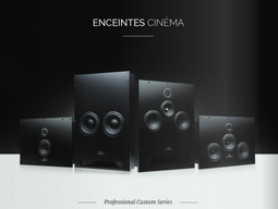 Enceintes Cinéma WaterFall Audio