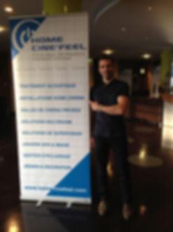 SICAZUR Antibes avec HomeCinéFeel Alarme VidéoSurveillance - Réseau - Domotique - Installateur Salle Cinéma privée - Contrôle Accès...