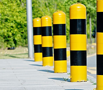Sinage & Bollards | Bridgeton, NJ | Asphaltech Pavement Solutions
