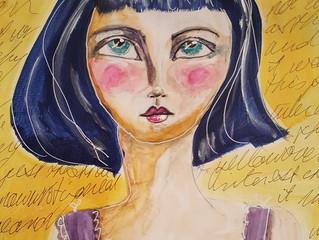 Girl in Yellow