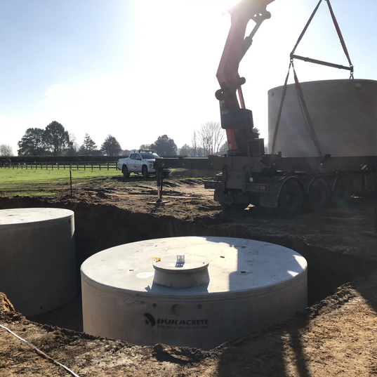 Concrete water tanks and storage
