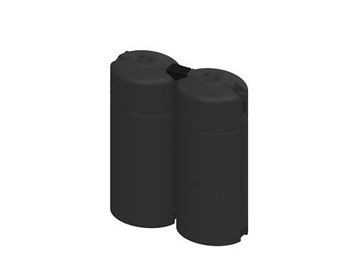 Slim-line Plastic Water Tank- 2,000Ltr
