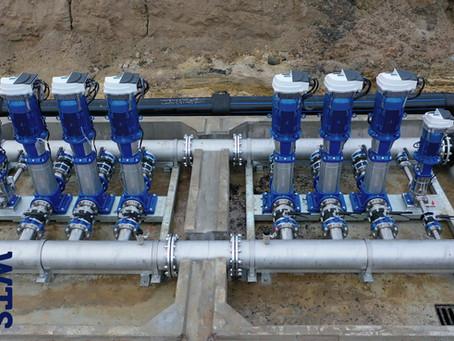 Pump station installation: APL Cambridge