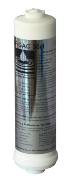 De-Scaling Carbon Inline Cartridge