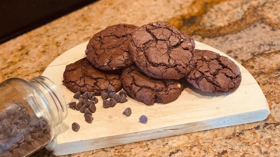 Brownie Cookies w/ Nuts