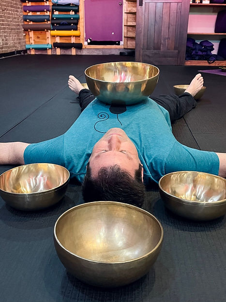 Private Sound Healing Sessions with Tibetan Bowls