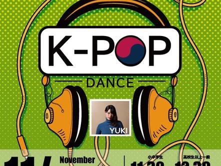 November kpop dance sendai
