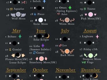 Witch Calendar