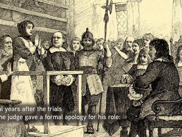 Sam Sewall and the Salem Witch Trials