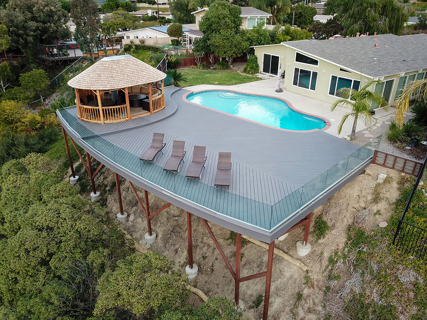 San Diego Custom Built Deck