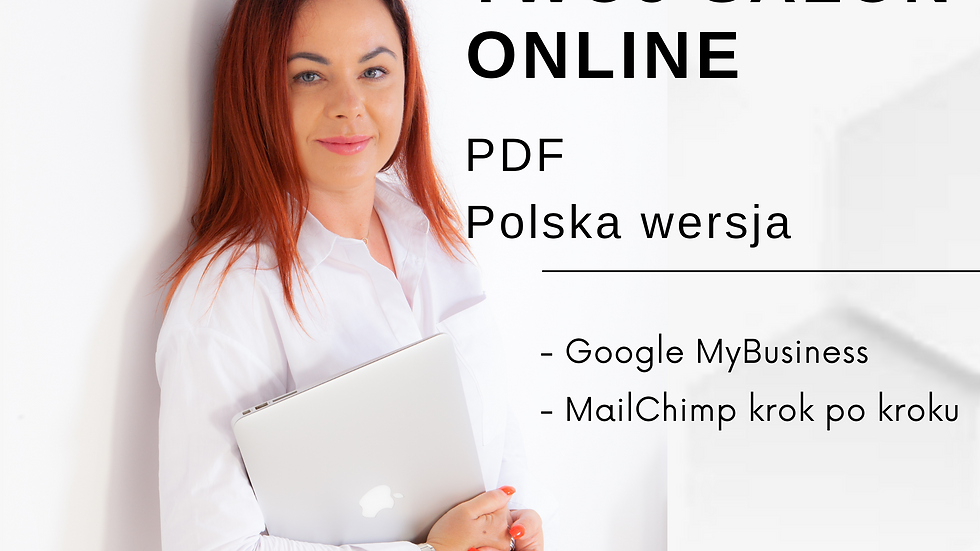 Google my business for beauty salon- polish version