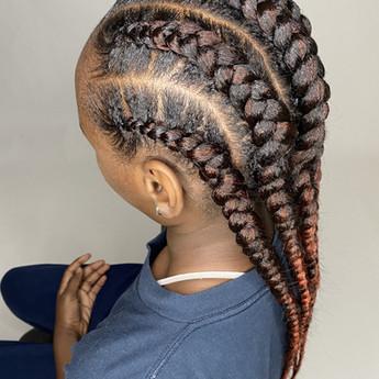Kids Feed in braids