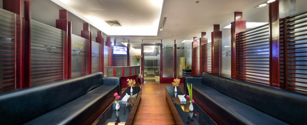 Owner's lounge, hotel the cox today