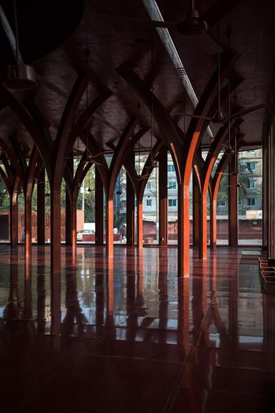 RED mosque by Urbana. Kashef mahboob chowdhury