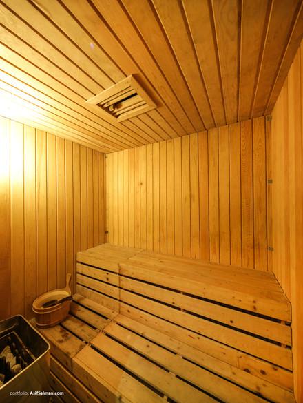 sauna bath, hotel the cox today