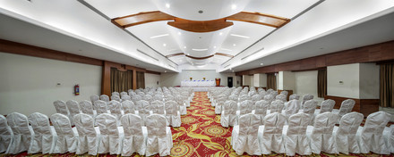 grand hall, hotel the cox today