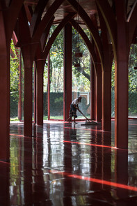 Red Mosque by Urbana/Kashef Mahboob Chowdhury