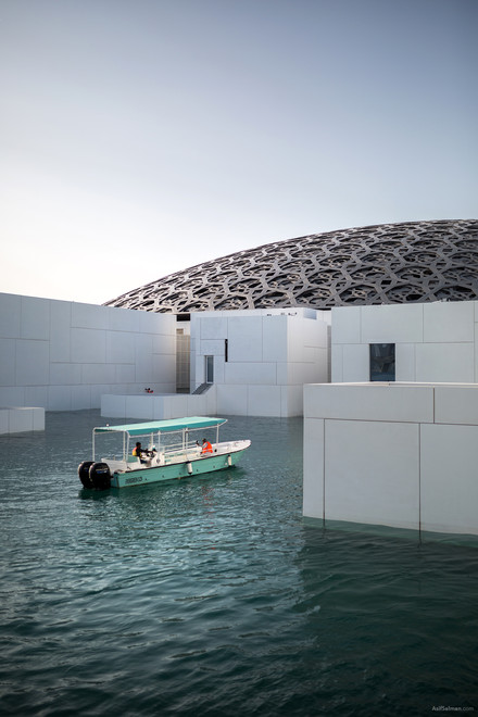 Louvre Abu Dhabi by Jean Nouvel
