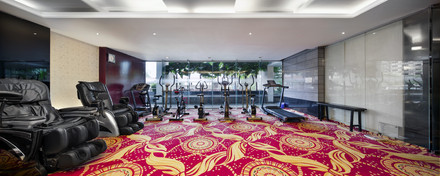 gym, hotel the cox today
