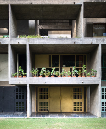 Villa Shodhan/Shodhan House Architect: Le Corbusier Building in Ahmedabad, India