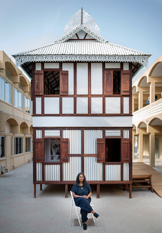 Architect Marina Tabassum in Sharjah Architecture Triennial 2019