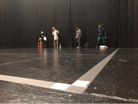 Rehearsal 14 + Bump In, 16 July 2020