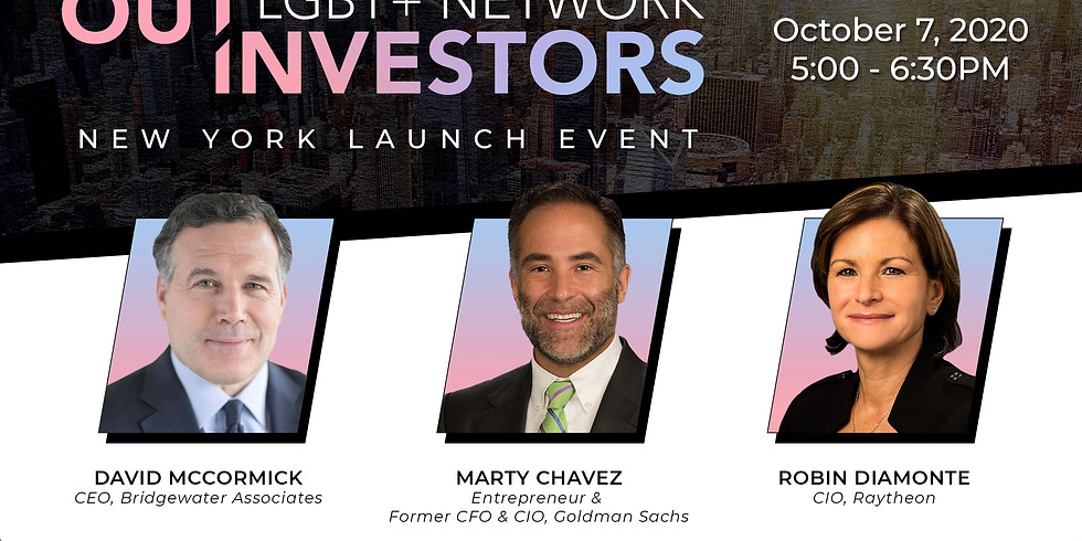 Out Investors: NYC Launch Event