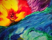 Acrylic on Canvas Summer 2013