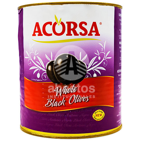 Aceitunas Negras Con Hueso 3 kg Acorsa