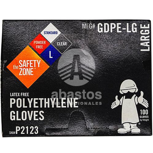 Guantes Plasticos para Sandwich Size L 100 ud Elite