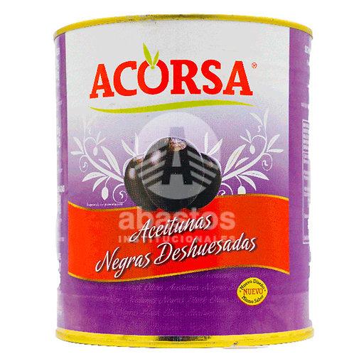 Aceitunas Negras Deshuesada 3 kg Acorsa
