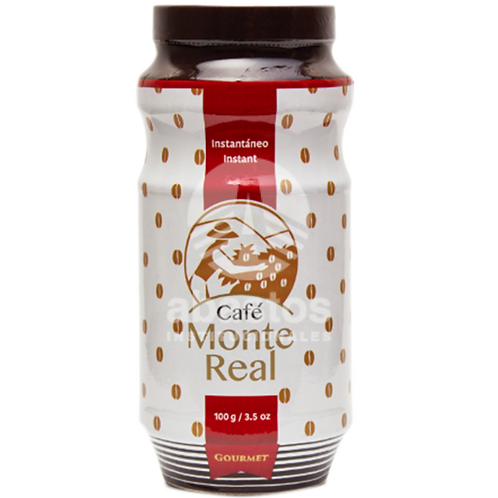 Cafe Instantaneo 100 gr Monte Real
