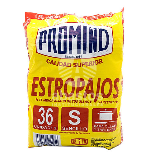 Estropajo 36 ud Promind