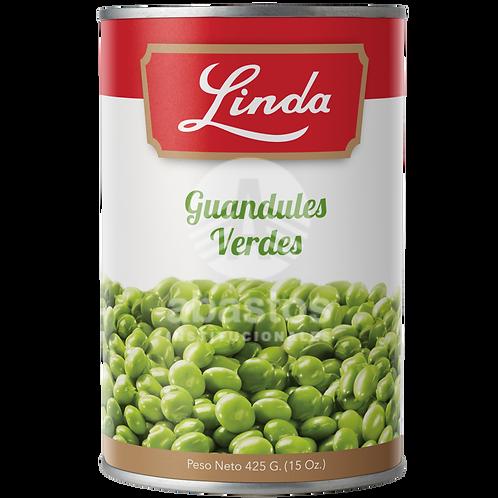 Guandules Verdes 15 oz Linda