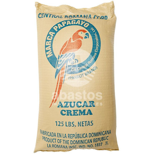 Azucar Crema 125 lb Papagayo