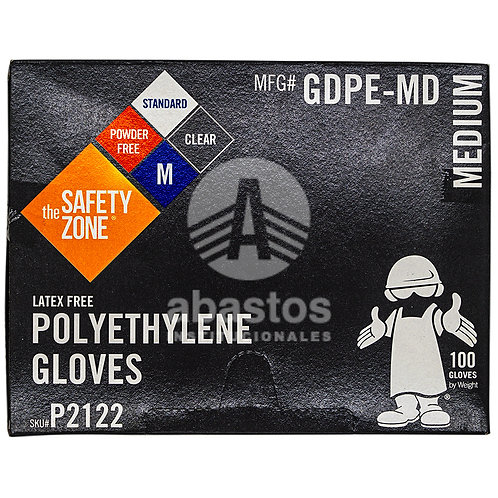 Guantes Plasticos para Sandwich Size M 100 ud Elite