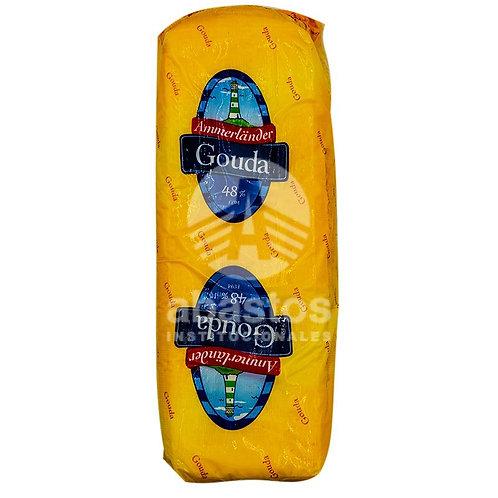 Queso Gouda En Barra 1 lb Ammerland