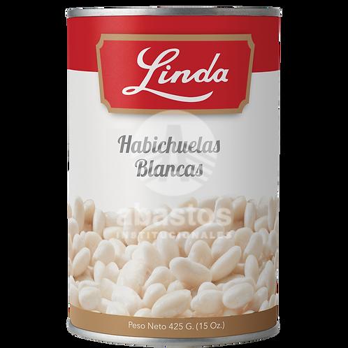 Habichuelas Blancas 15 oz Linda