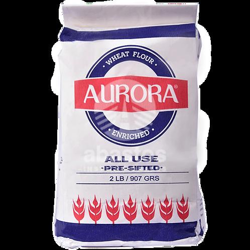 Harina de Trigo 2 lb Aurora