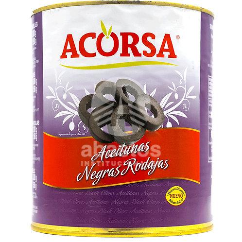 Aceitunas Negras Rebanadas 3 kg Acorsa