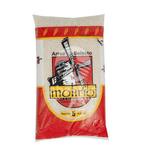 Arroz Superselecto 5 lb El Molino