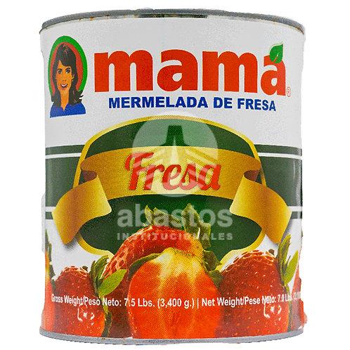 Mermelada de Fresa 7 lb Mama