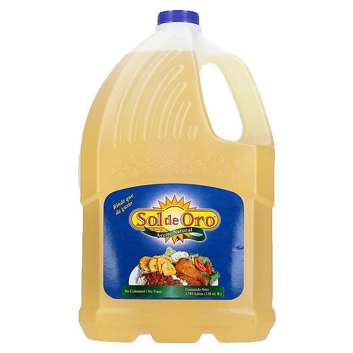 Aceite Vegetal 128 foz Sol De Oro