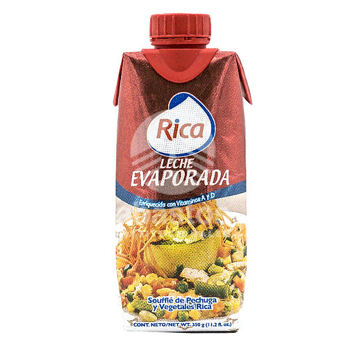 Leche Evaporada 350 gr Rica