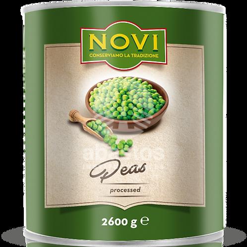 Petit Pois (guisantes ) 2600 gr Novi