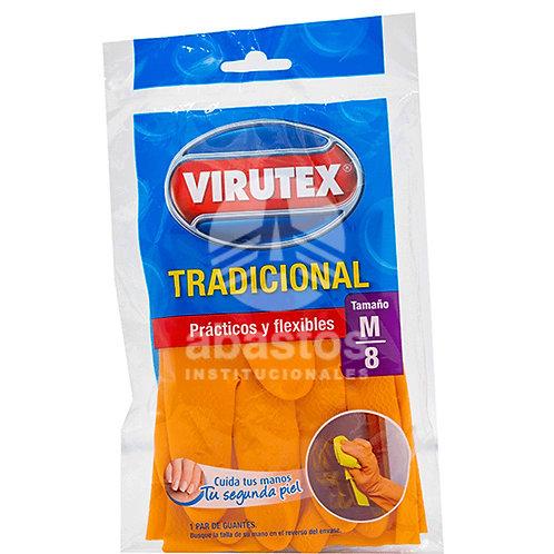 Guantes de Limpieza Naranjas Size L 1 par Virutex