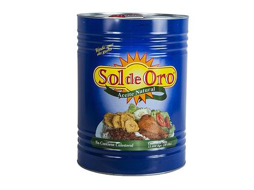 Aceite Vegetal 30 lb Sol De Oro