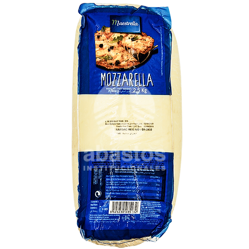 Queso Mozzarella Old En Barra 5.600 lb Maestrella